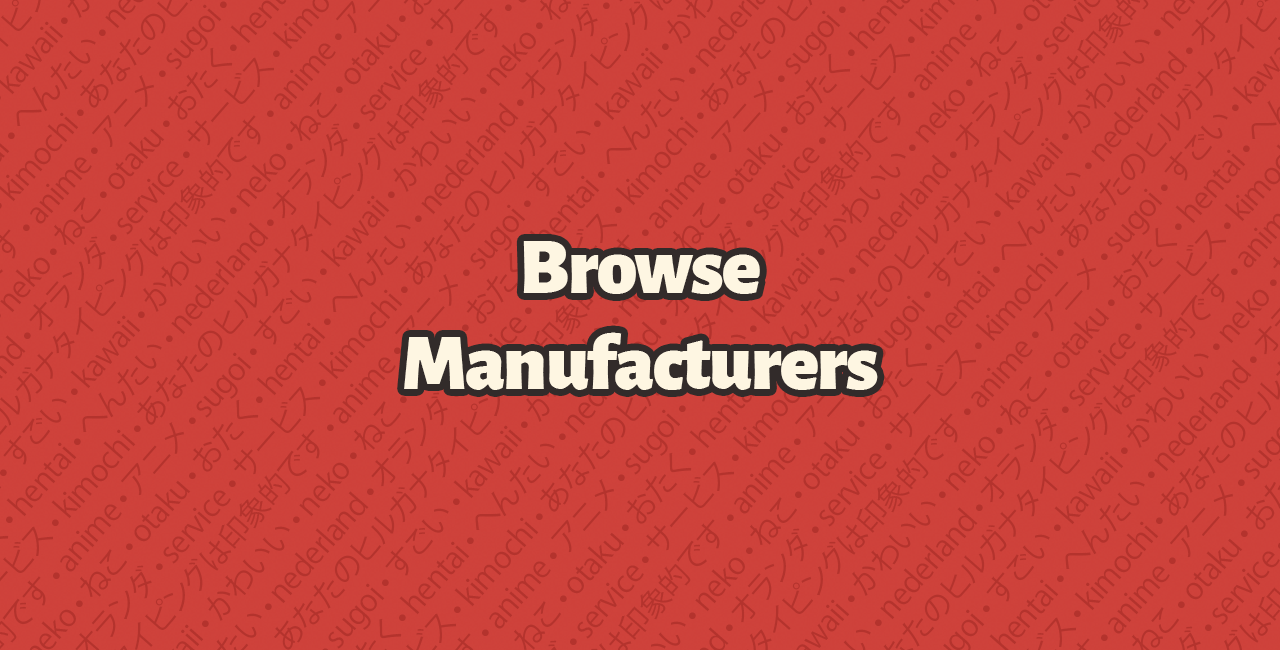 Browse manufacturers