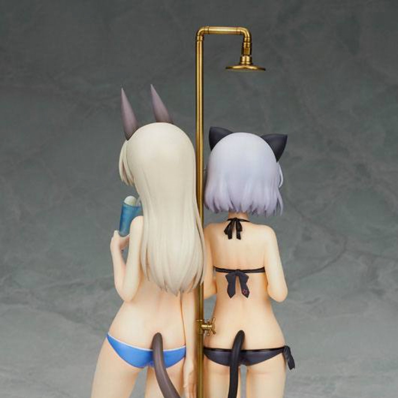 Strike Witches 2 PVC Statue 1/8 Sanya & Eila Swimsuit Ver. 23 cm