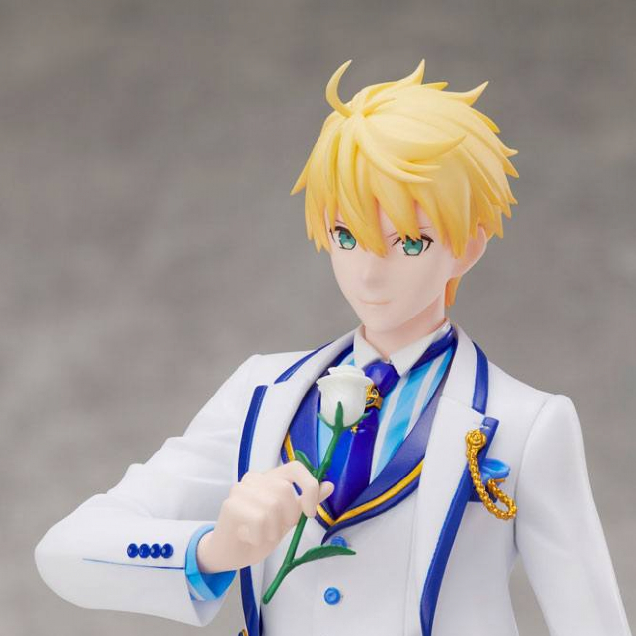 Fate/Grand Order: Saber/Arthur Pendragon (28cm, 1/7 scale, White Rose ver.)