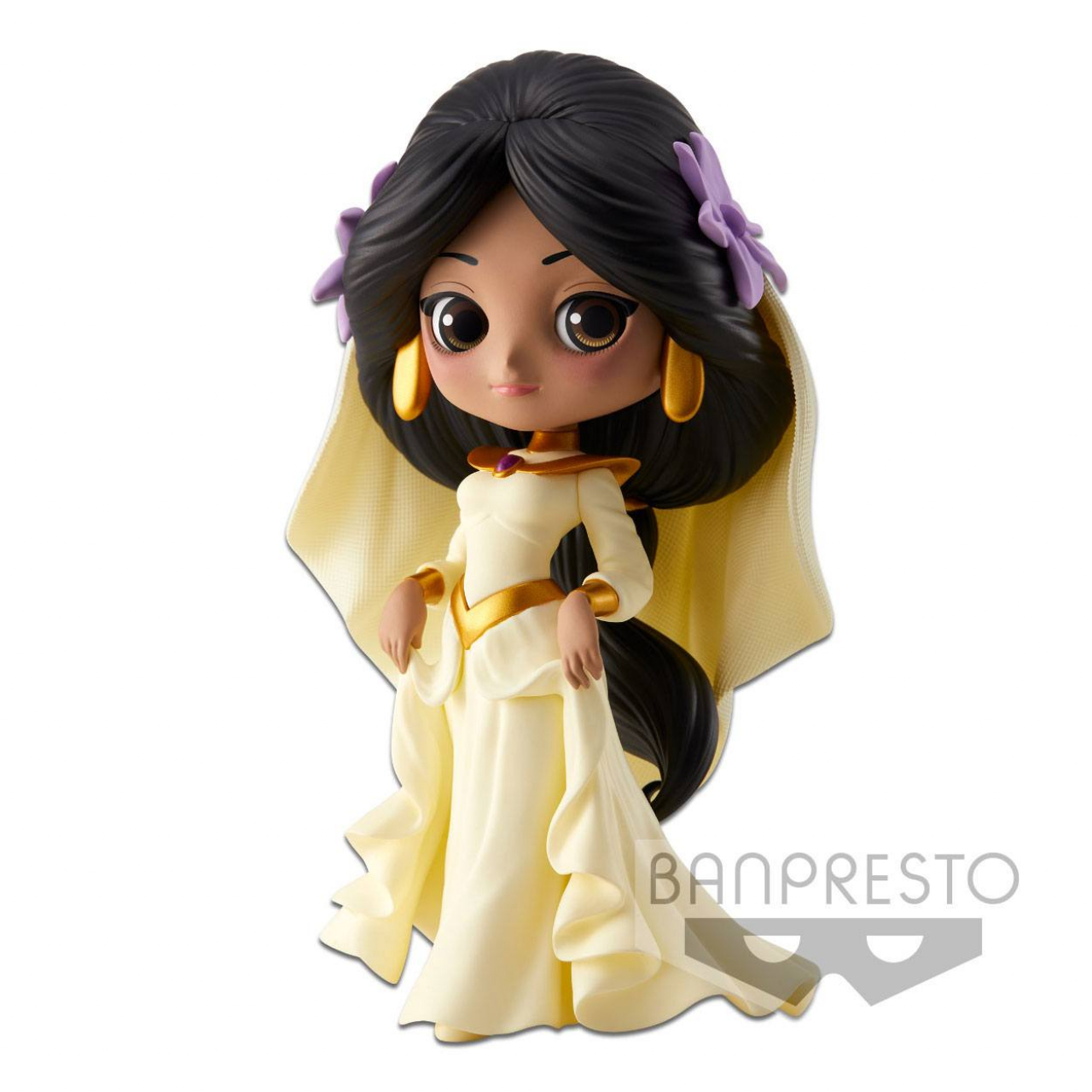 Disney Q Posket Mini Figure Jasmine Dreamy Style A Normal Color Version 14 cm