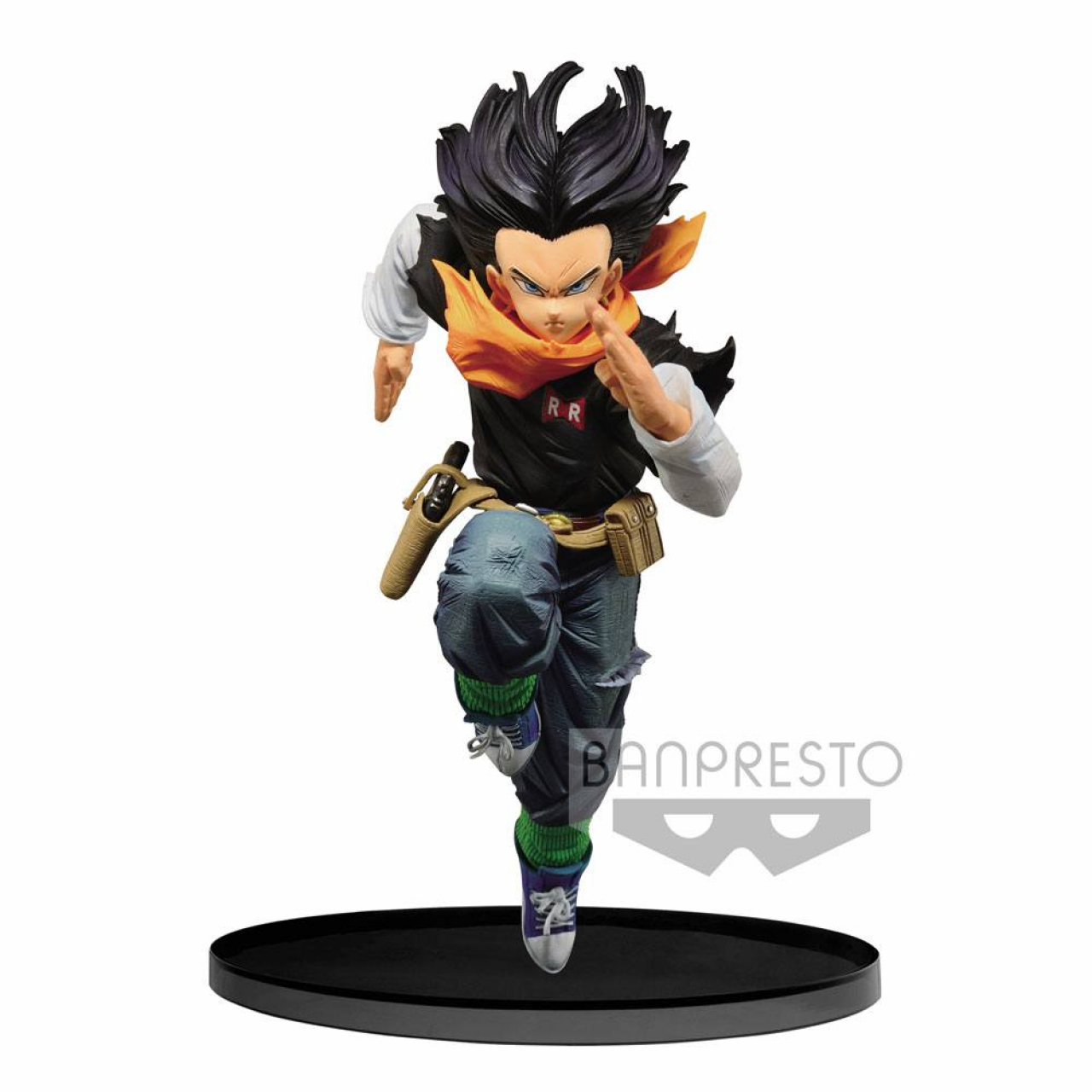Dragonball Z BWFC PVC Statue Android 17 Normal Color Ver. 17 cm