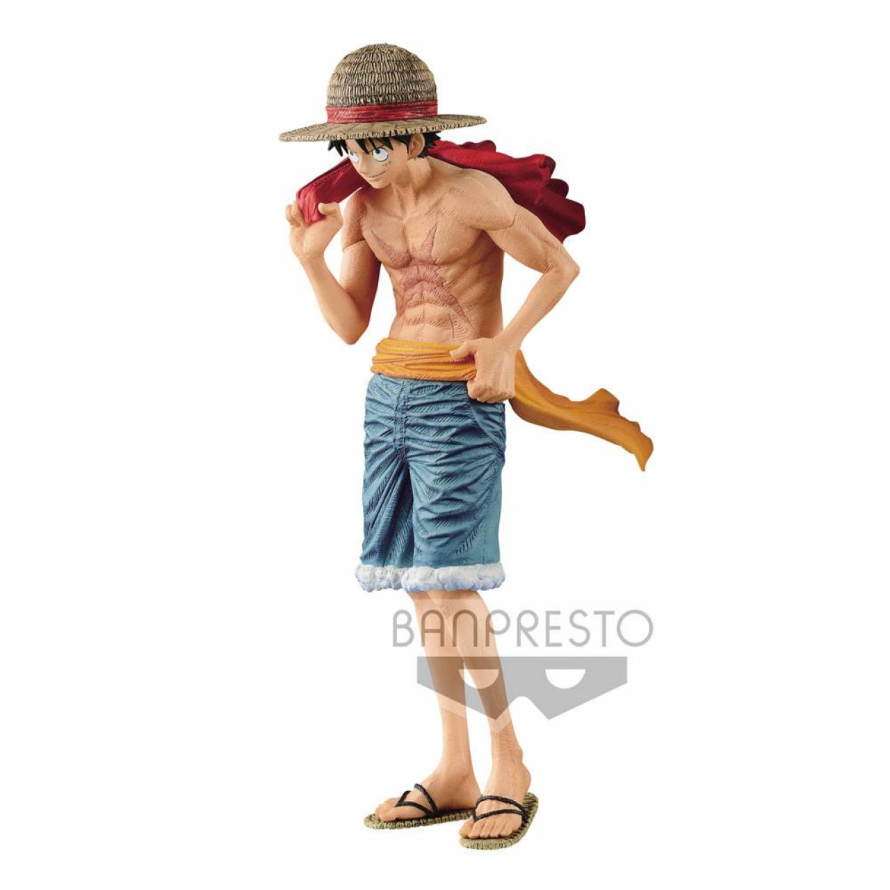 One Piece magazine PVC Statue Monkey D. Luffy Cover of 20th Anniversary One Piece Magazine 22 cm