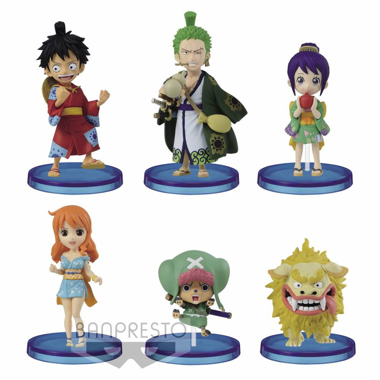 One Piece WCF ChiBi Figures 7 cm Assortment Wanokuni Vol. 1 (12)