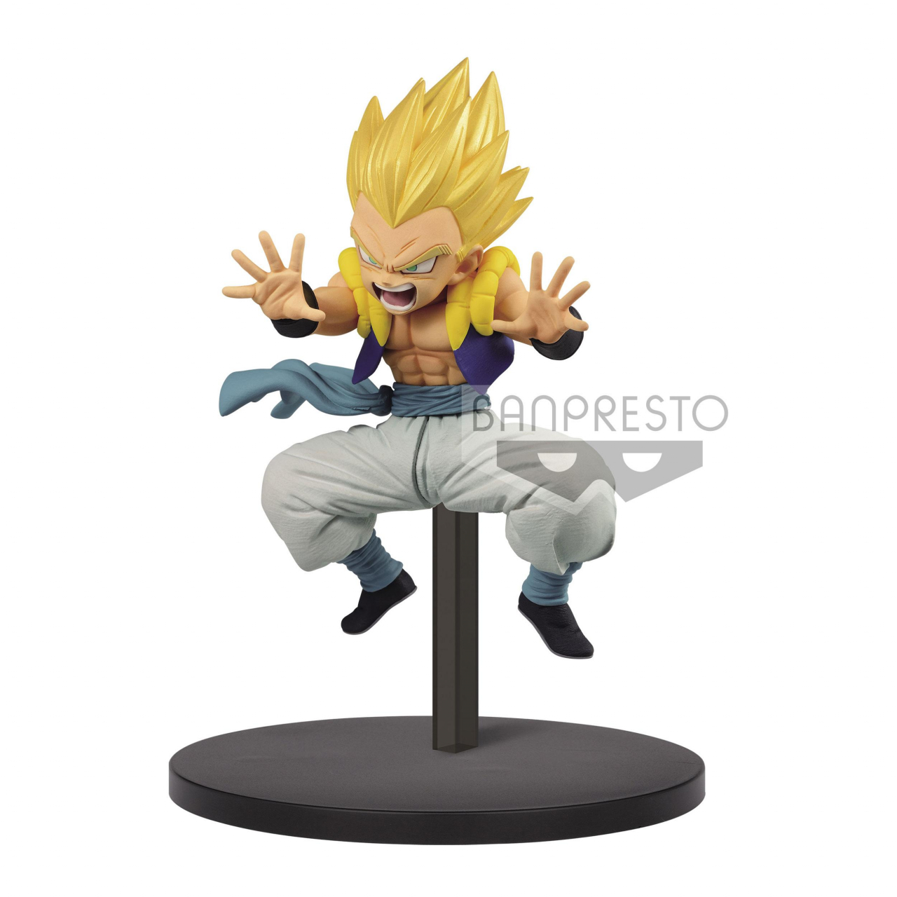 Dragon Ball Super Chosenshiretsuden PVC Statue Super Saiyan Gotenks 10 cm