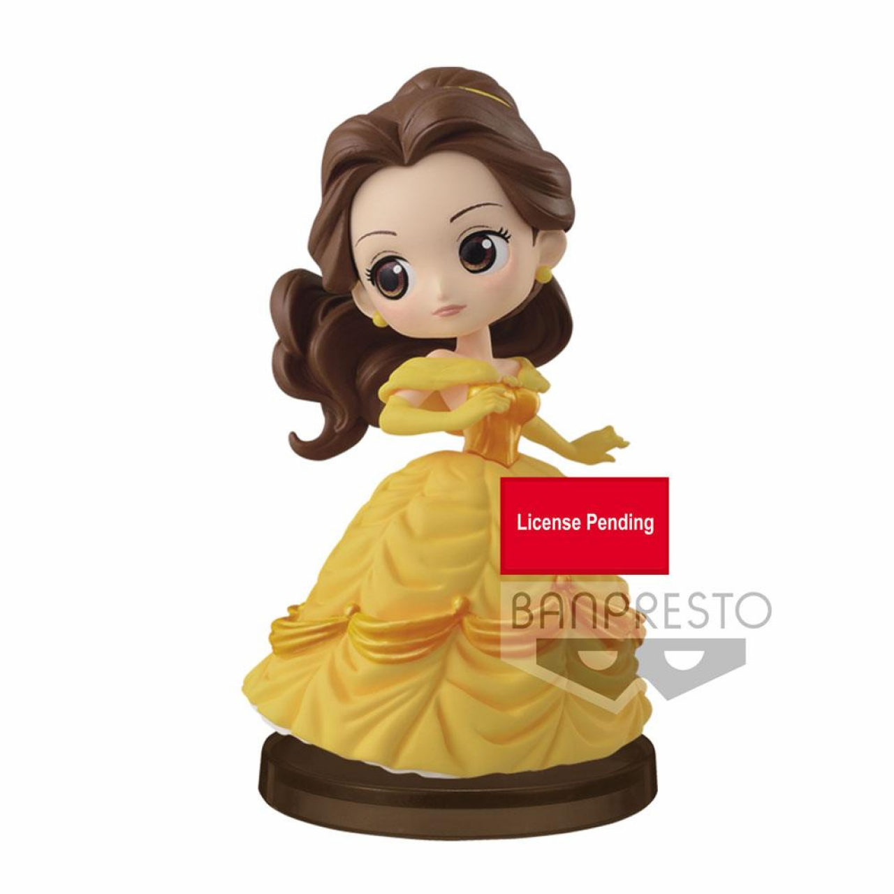 Disney Q Posket Petit Mini Figure Story of Belle Ver. D 7 cm