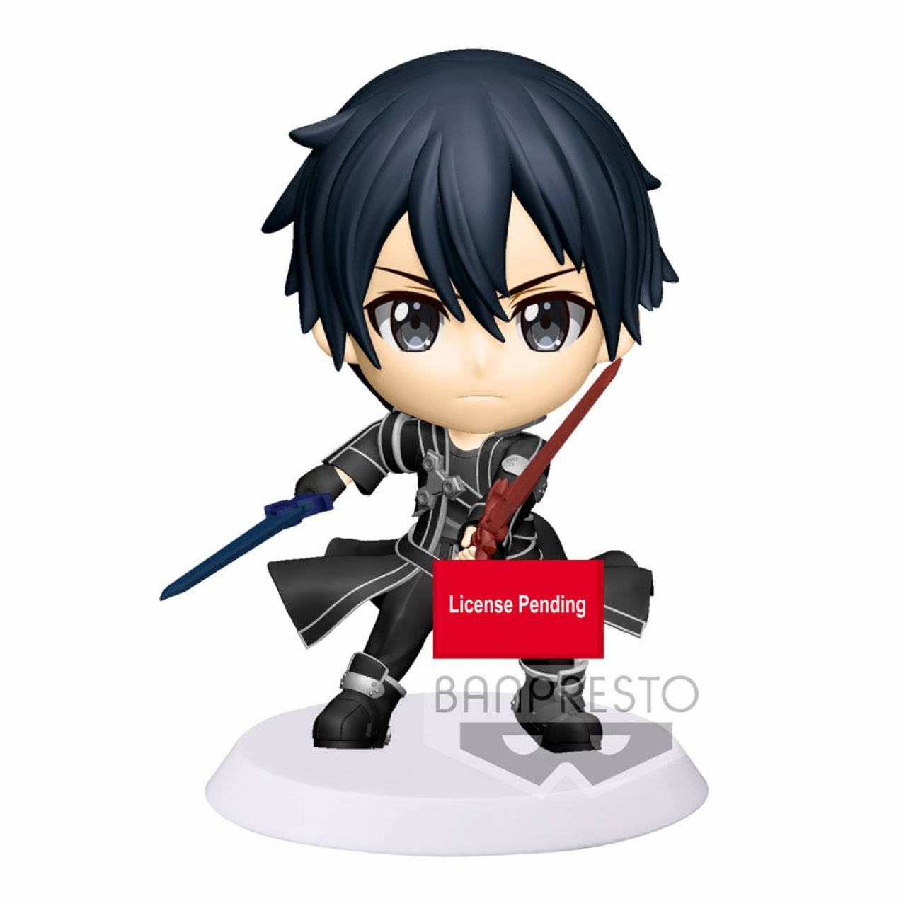 Sword Art Online Alicization War of Underworld ChiBi Kyun Figure Kirito 6 cm