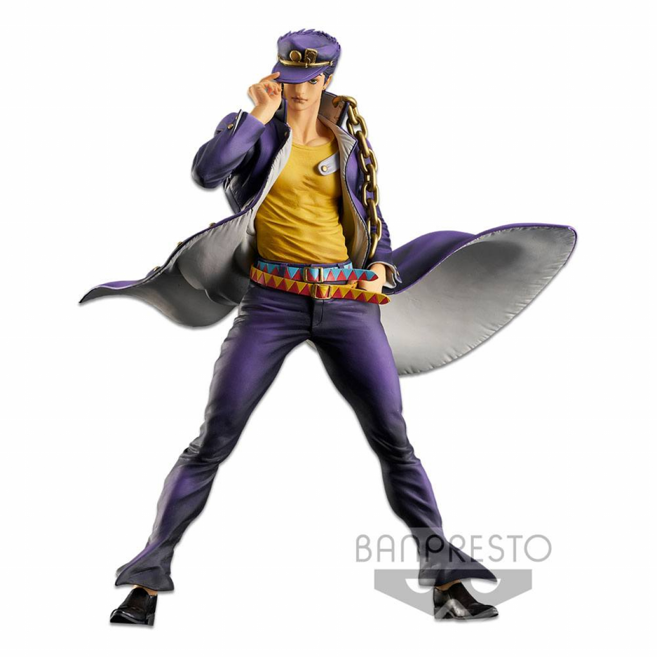 Jojo's Bizarre Adventure Master Star Piece PVC Statue Jotaro Kujo The Brush 28 cm