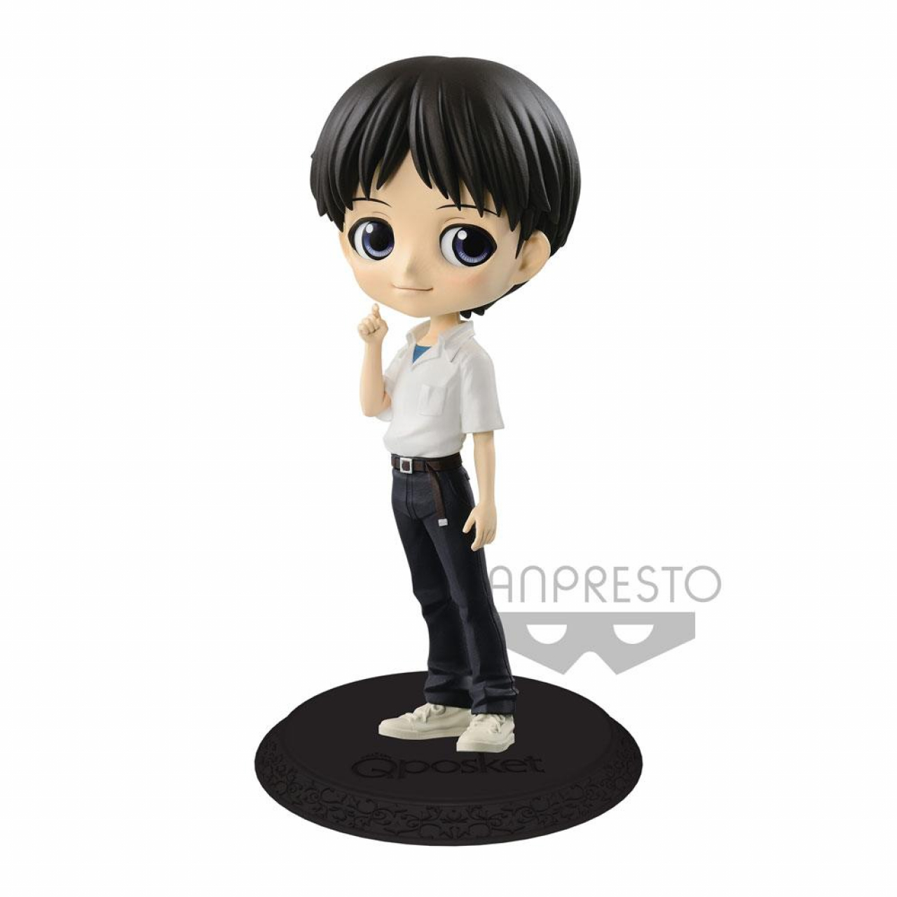 Evangelion Movie Q Posket Mini Figure Shinji Ikari Ver. A 14 cm