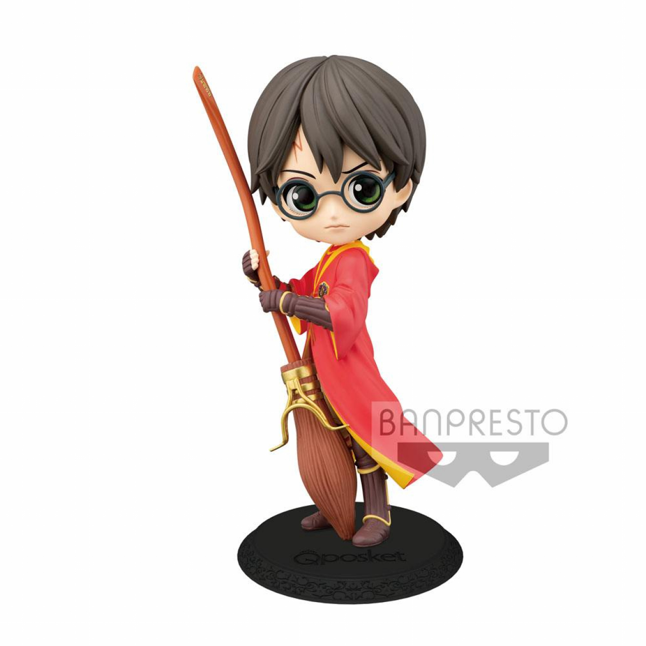 Harry Potter Q Posket Mini Figure Harry Potter Quidditch Style Version B 14 cm