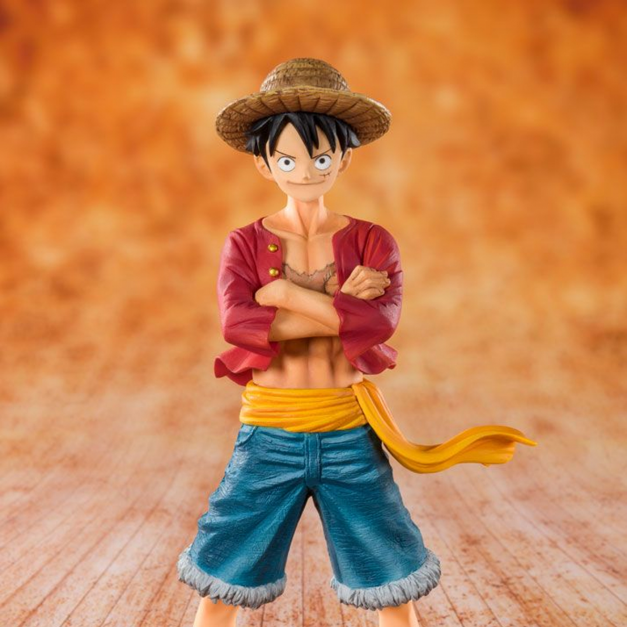 One Piece FiguartsZERO PVC Statue Straw Hat Luffy 14 cm