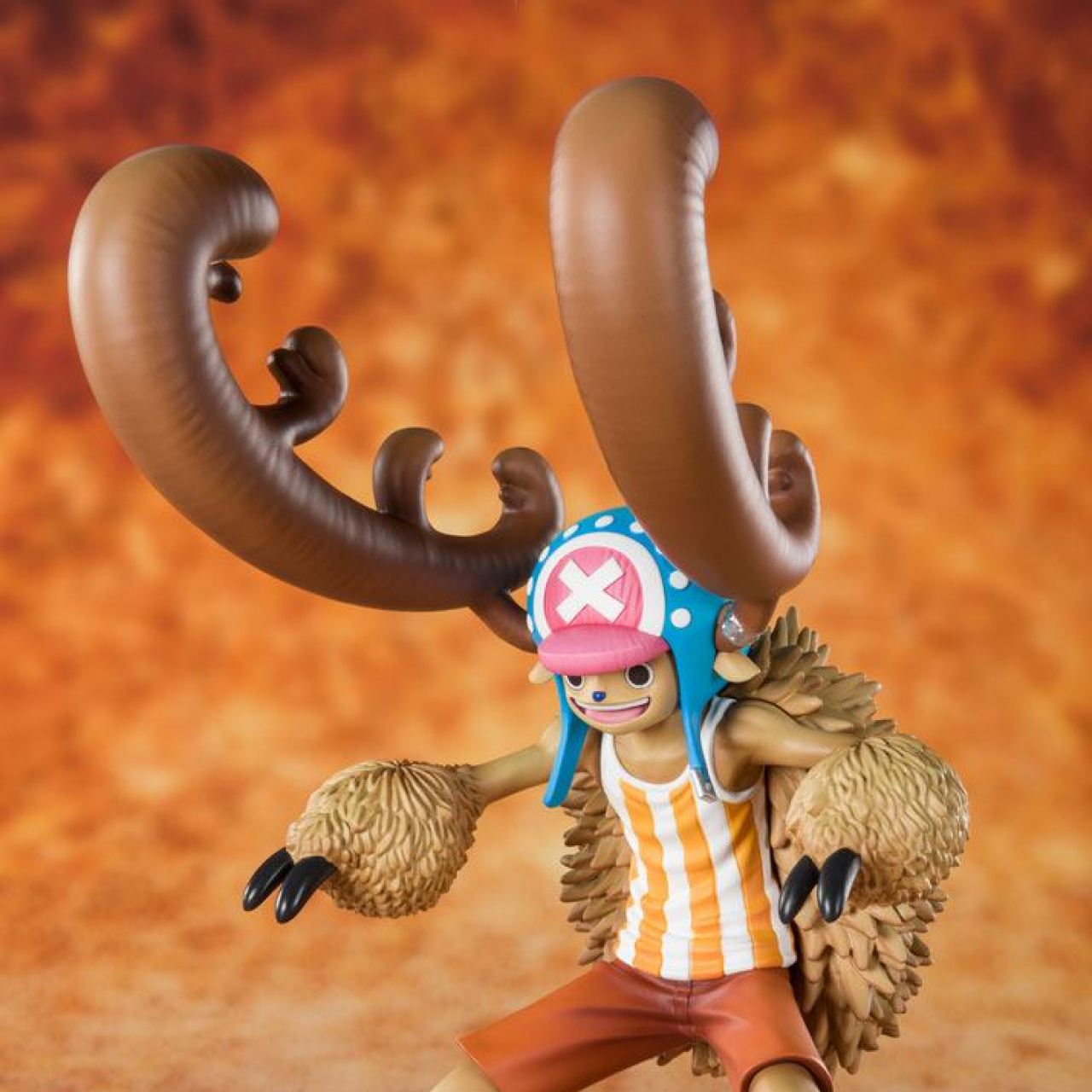 One Piece FiguartsZERO PVC Statue Cotton Candy Lover Chopper Horn Point Ver. 14 cm