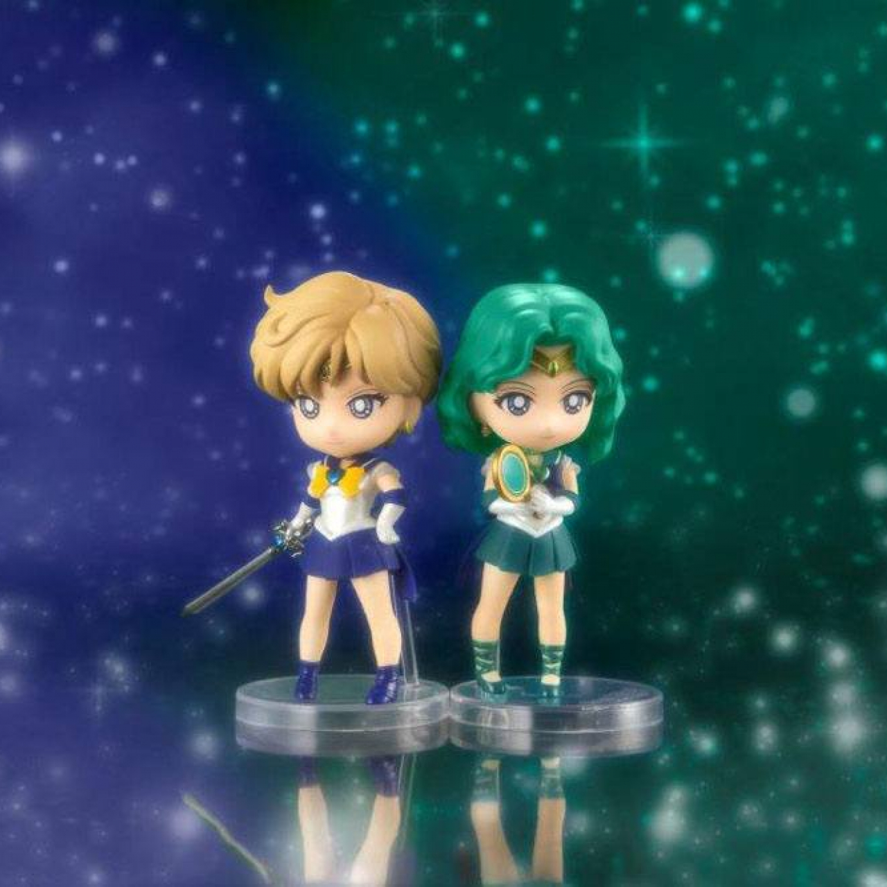 Sailor Moon Eternal Figuarts mini Action Figure Super Sailor Uranus (Eternal Edition) 9 cm