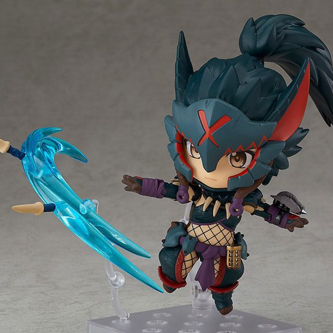 Monster Hunter World Iceborne Nendoroid Action Figure Hunter Female Nargacuga Alpha Armor Ver. DX