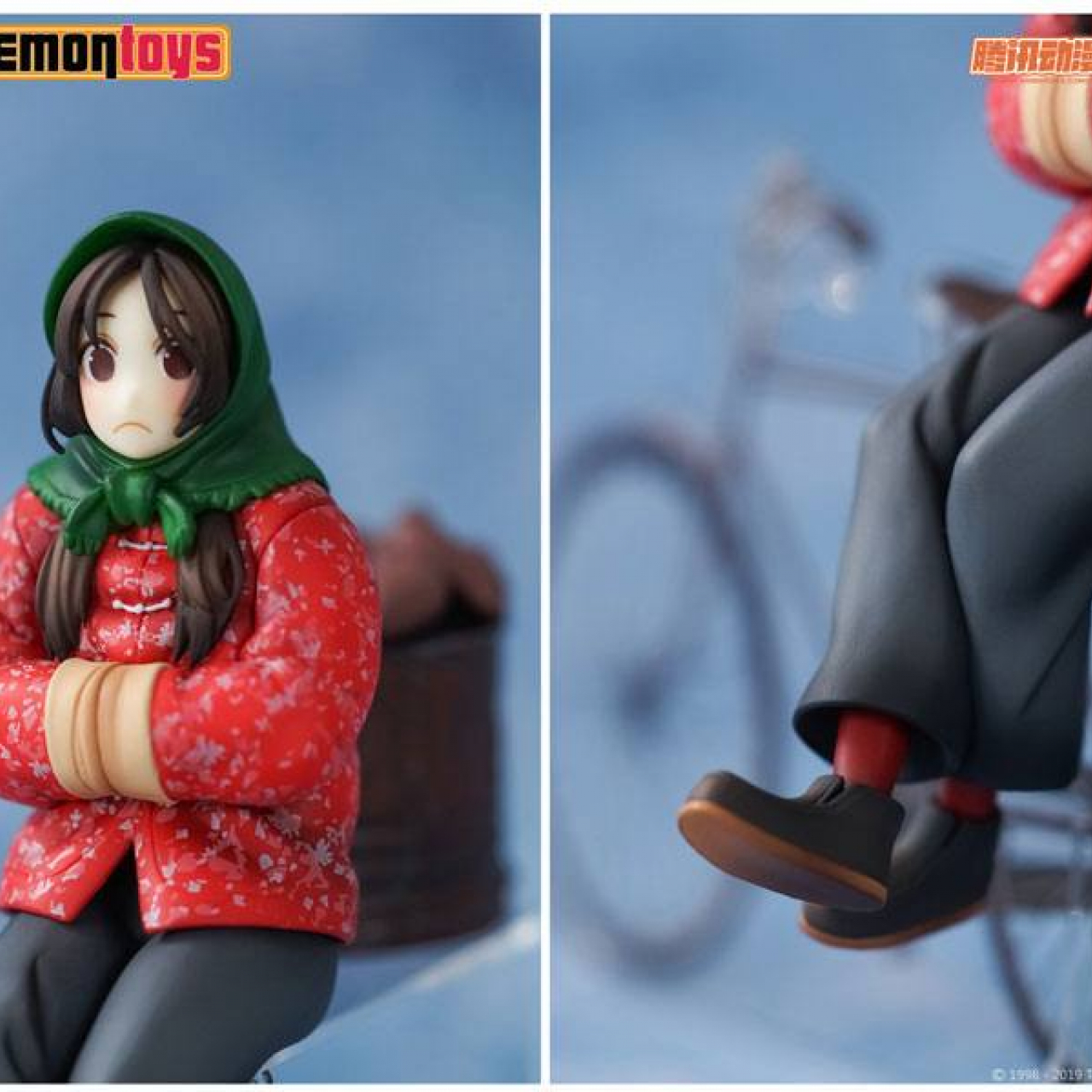 Under One Person PVC Statue 1/10 Feng Baobao Winter Ver. 16 cm