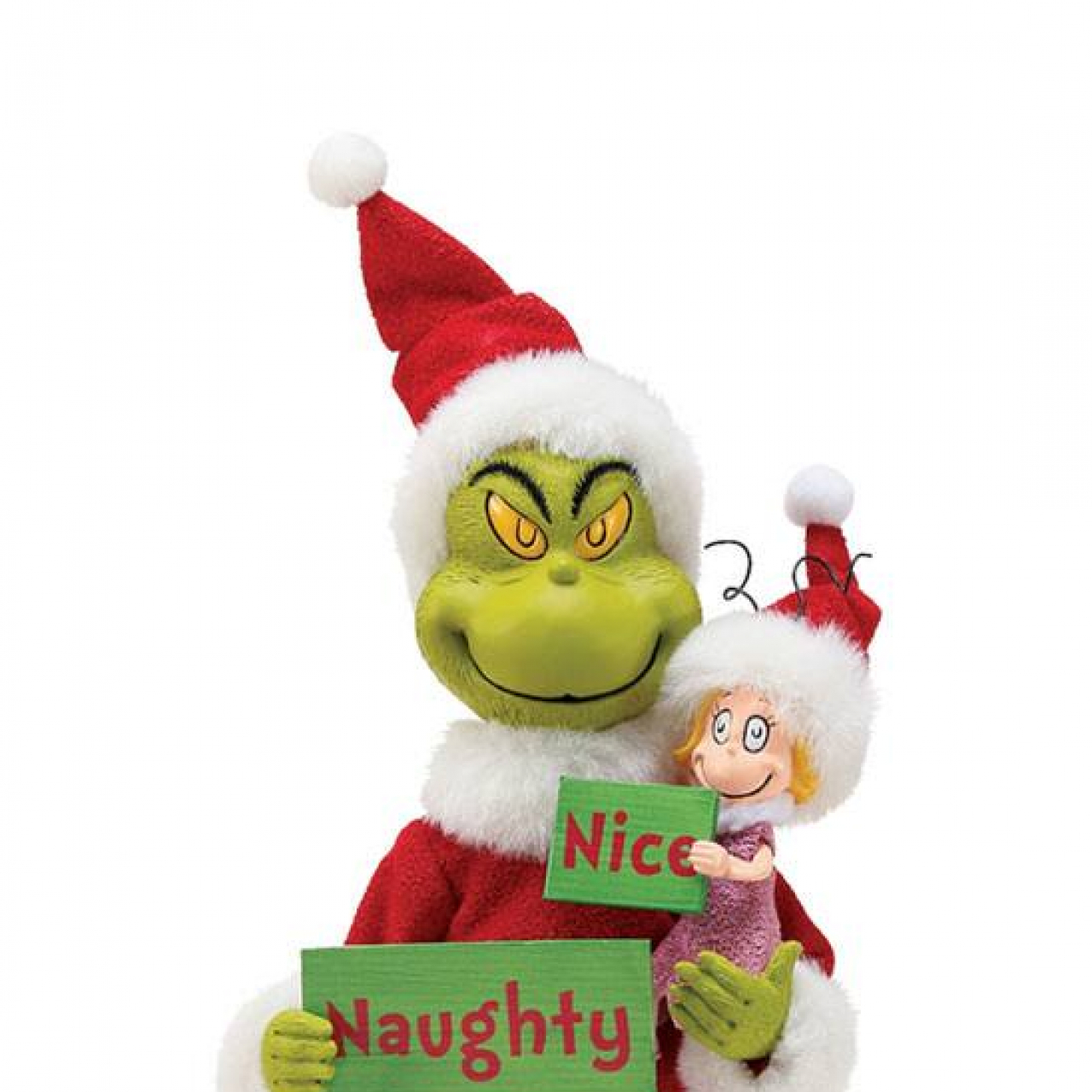 How the Grinch Stole Christmas Statue Grinch Naughty or Nice 30 cm