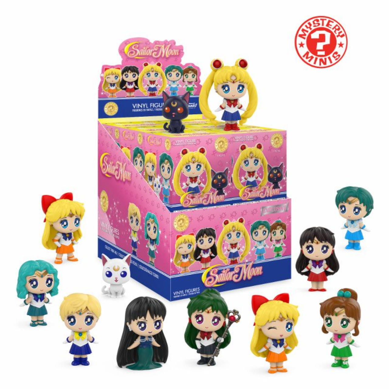 Sailor Moon Mystery Minis Vinyl Mini Figures 6 cm Display Exclusive (12)