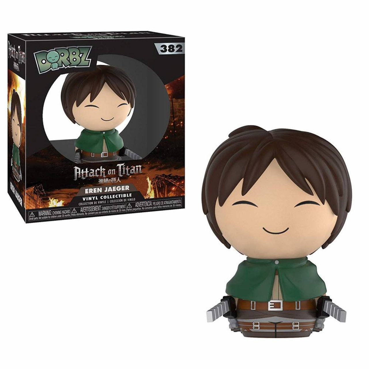 Attack on Titan Vinyl Sugar Dorbz Vinyl Figure Eren 8 cm