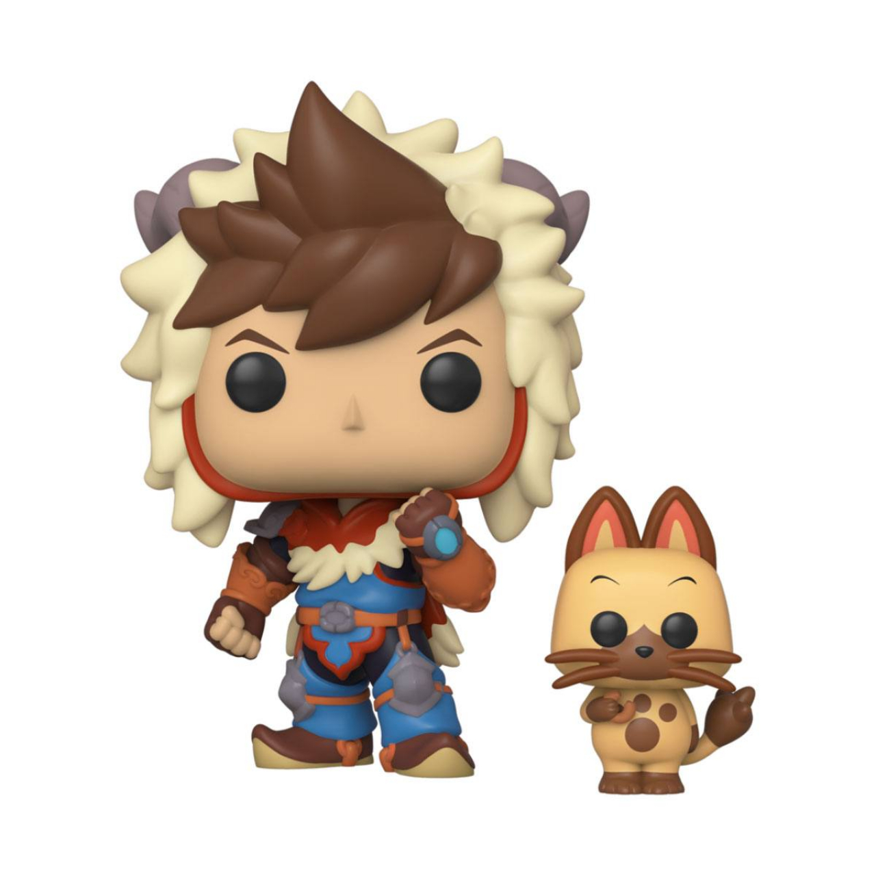 Monster Hunter Pop & Buddy! Animation Vinyl Figure Lute & Navirou 9 cm