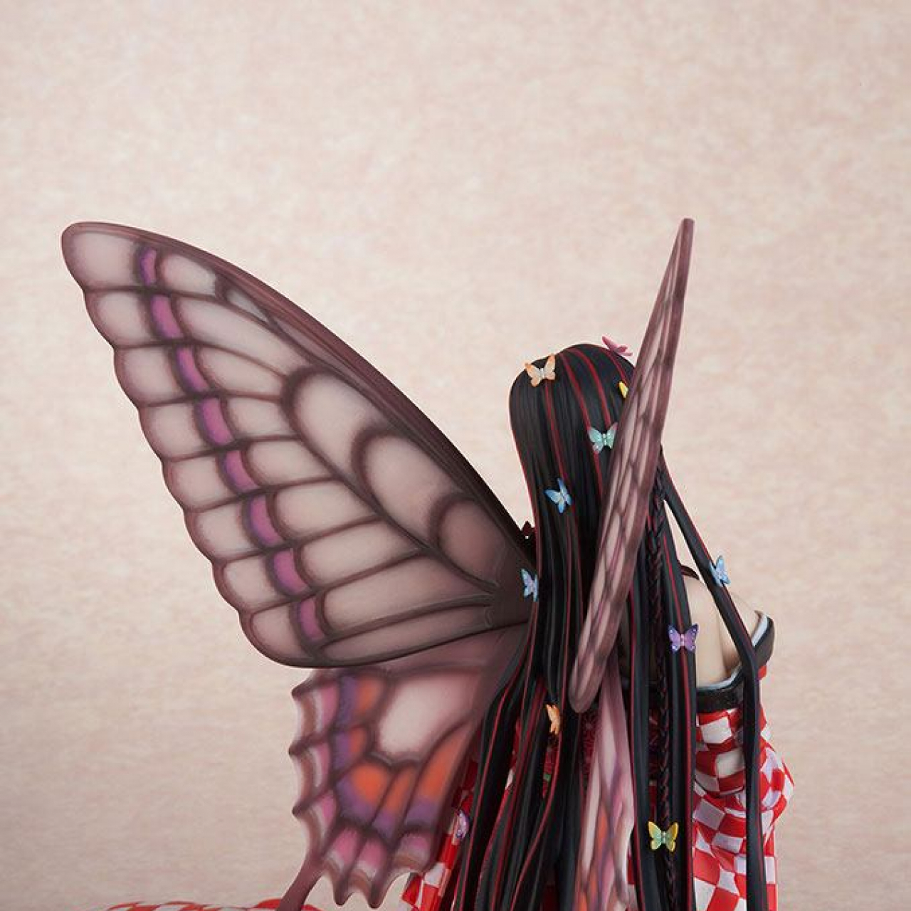 Original Character Hoteri PVC Statue Red Butterfly Illustration by Jin Happobi 16 cm