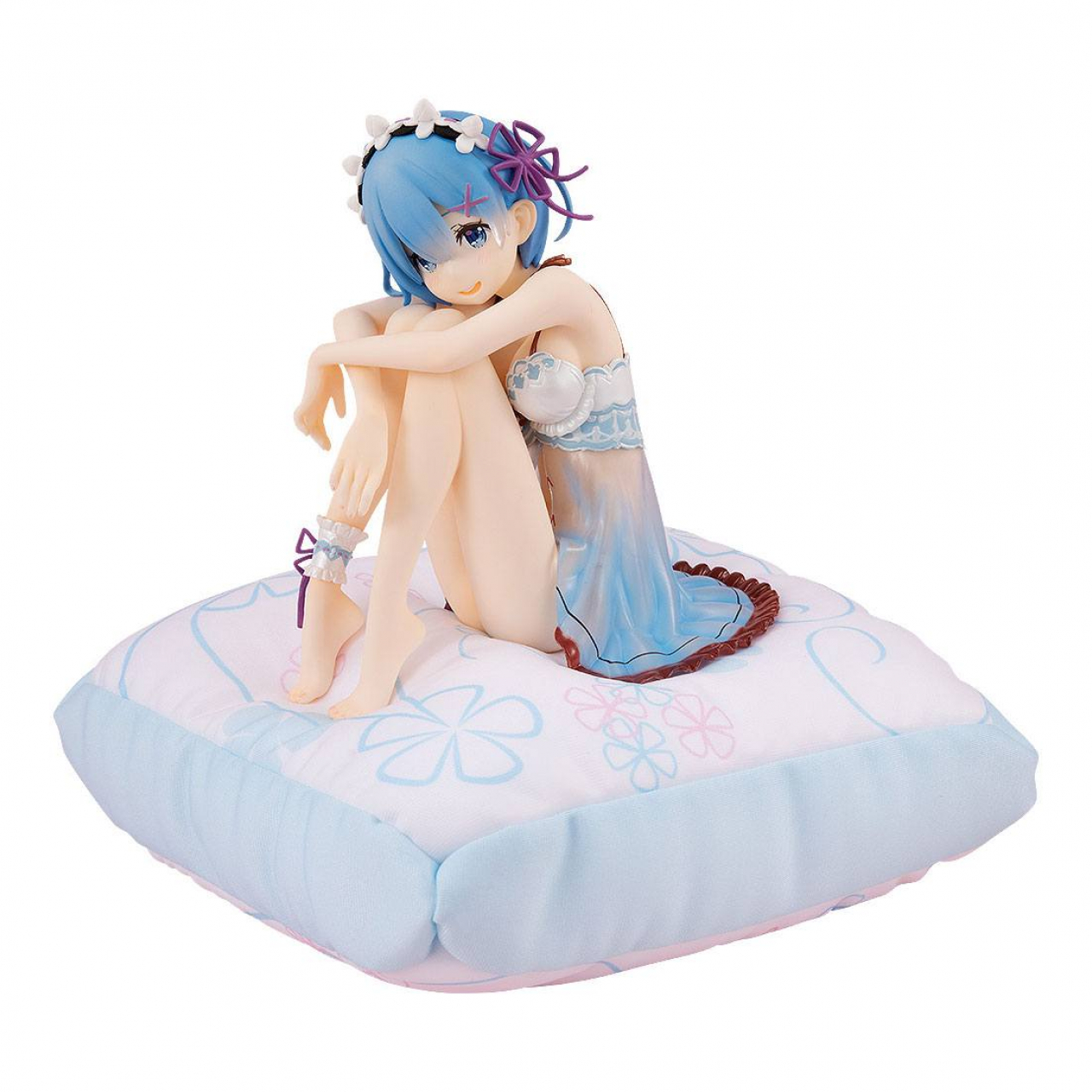 Re:ZERO -Starting Life in Another World- PVC Statue Rem: Birthday Blue Lingerie Ver. 12 cm