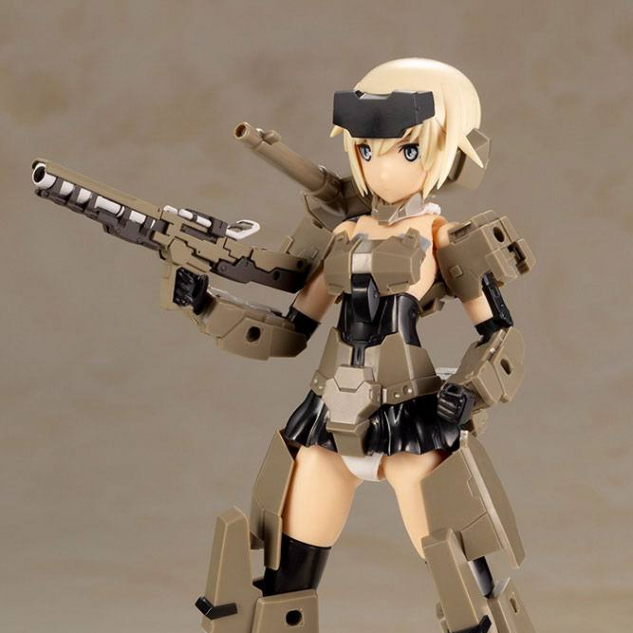 Frame Arms Girl Hand Scale Plastic Model Kit Gourai 8 cm