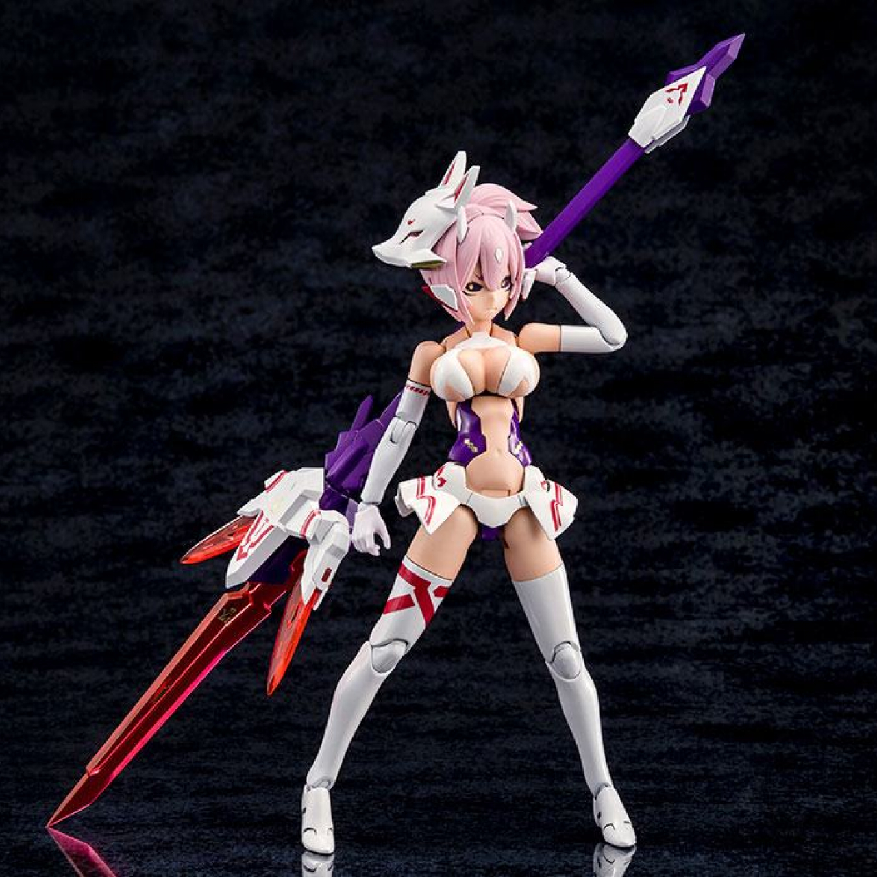 Megami Device Plastic Model Kit 1/1 Asra Nine-Tails 14 cm