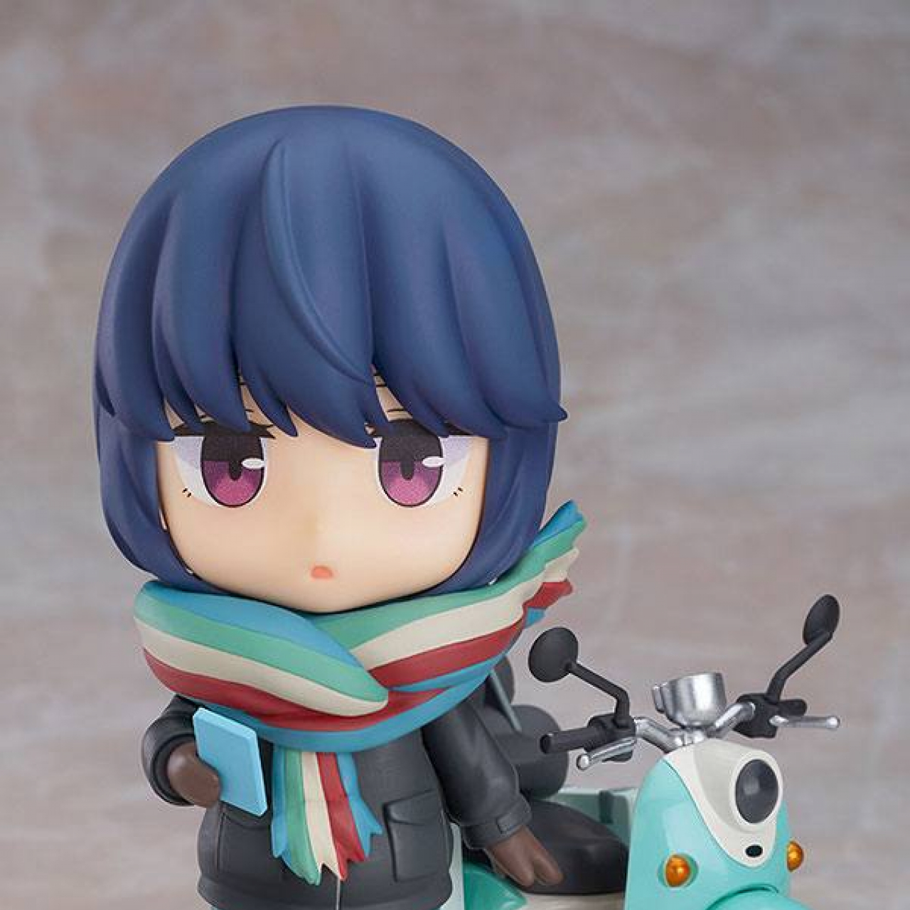 Laid-Back Camp Action Figure Rin Shima Touring Ver. 10 cm