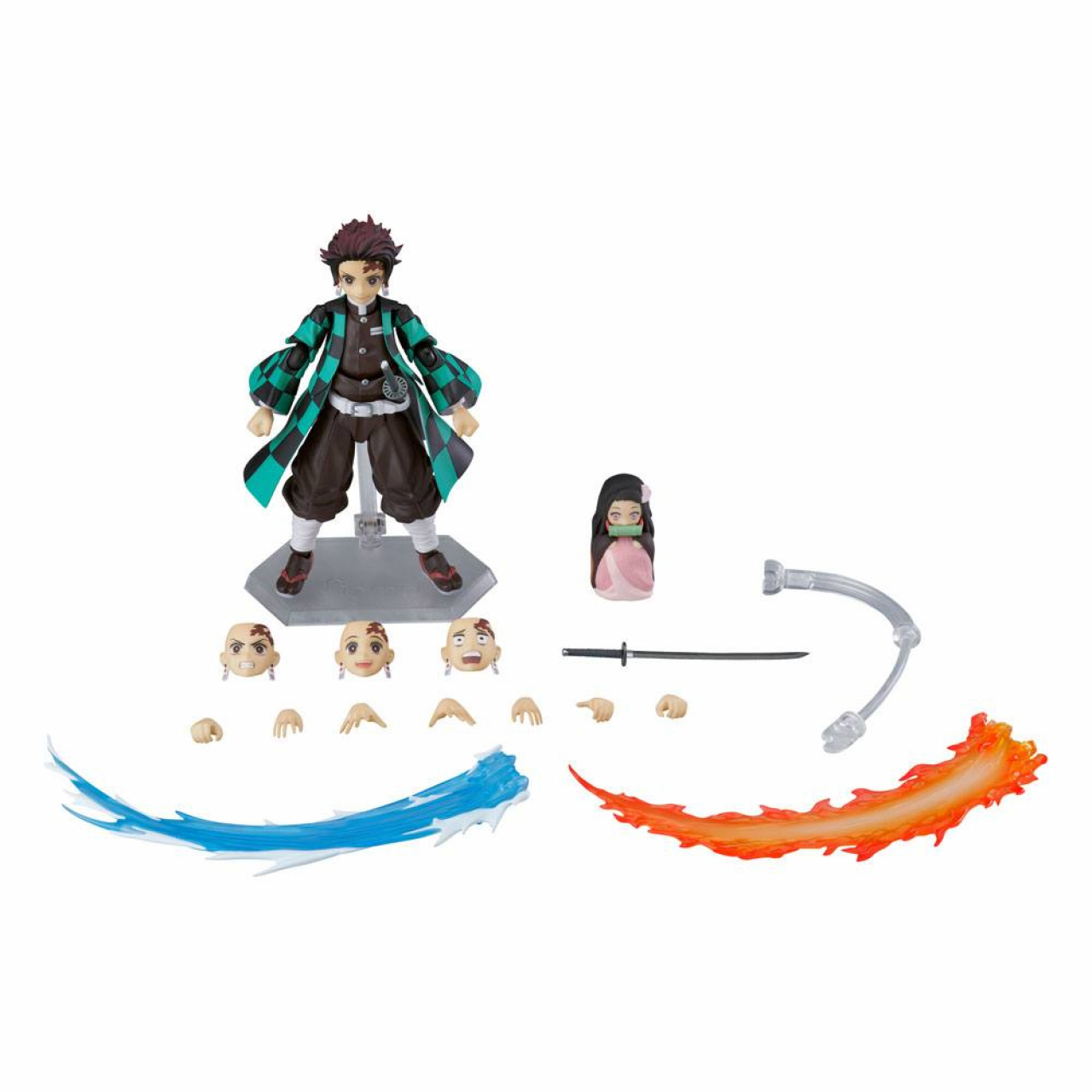 Demon Slayer: Kimetsu no Yaiba Figma Action Figure Tanjiro Kamado DX Edition 13 cm