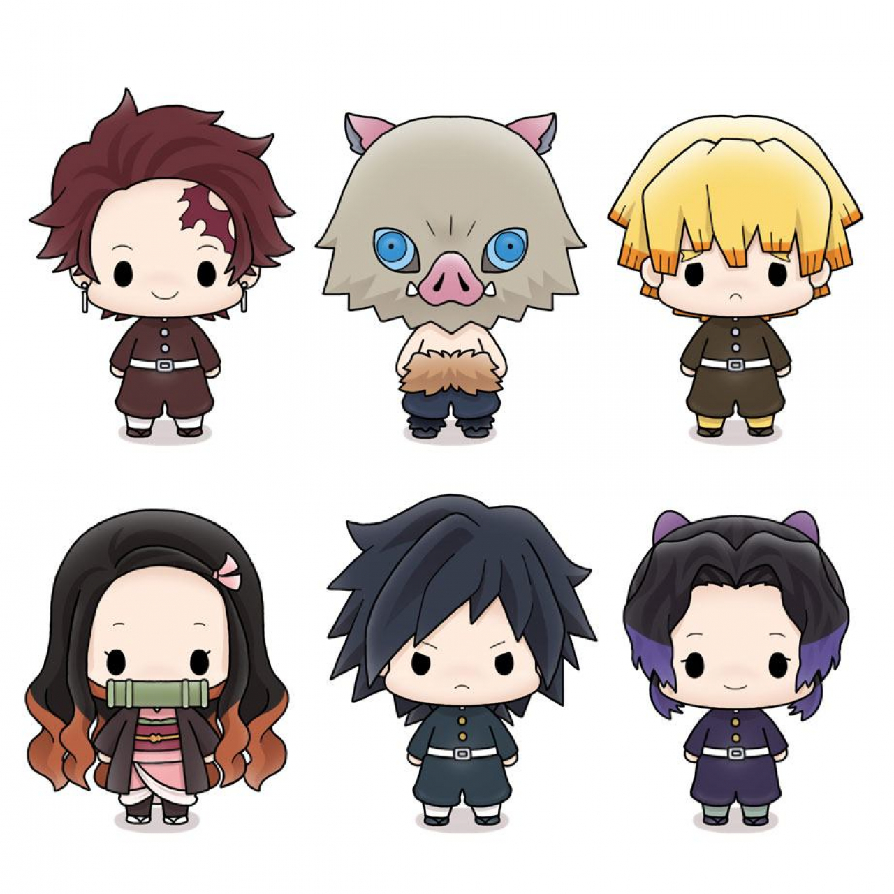Demon Slayer: Kimetsu no Yaiba Chokorin Mascot Series Trading Figure 5 cm Assortment (6)