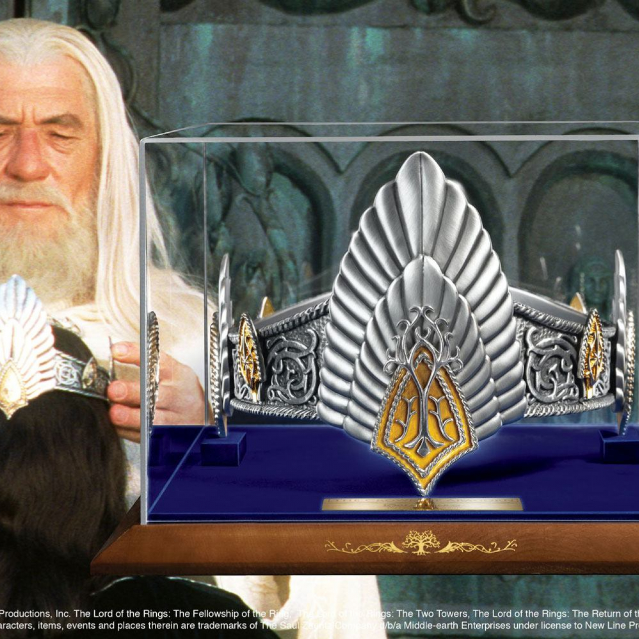 Lord of the Rings Replica The King Elessar Crown