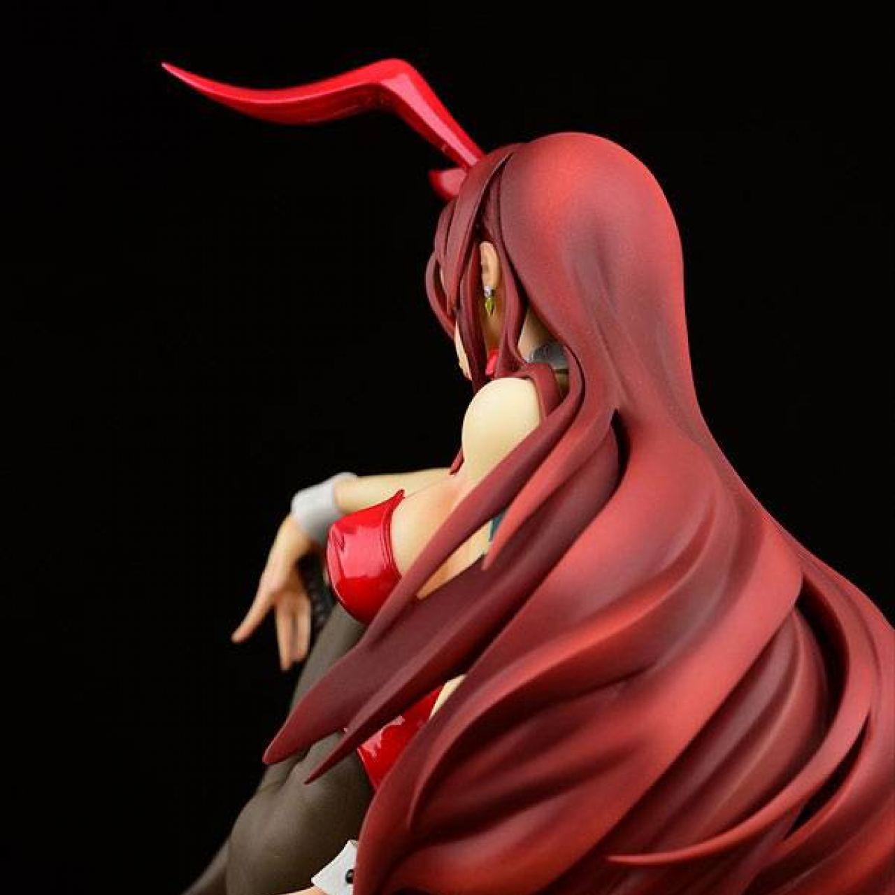 Fairy Tail PVC Statue 1/6 Erza Scarlet Bunny Girl Style Type Red 20 cm