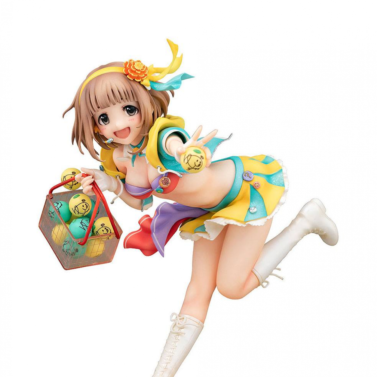 The Idolmaster Cinderella Girls PVC Statue 1/8 Yuzu Kitami: Citron Days 17 cm