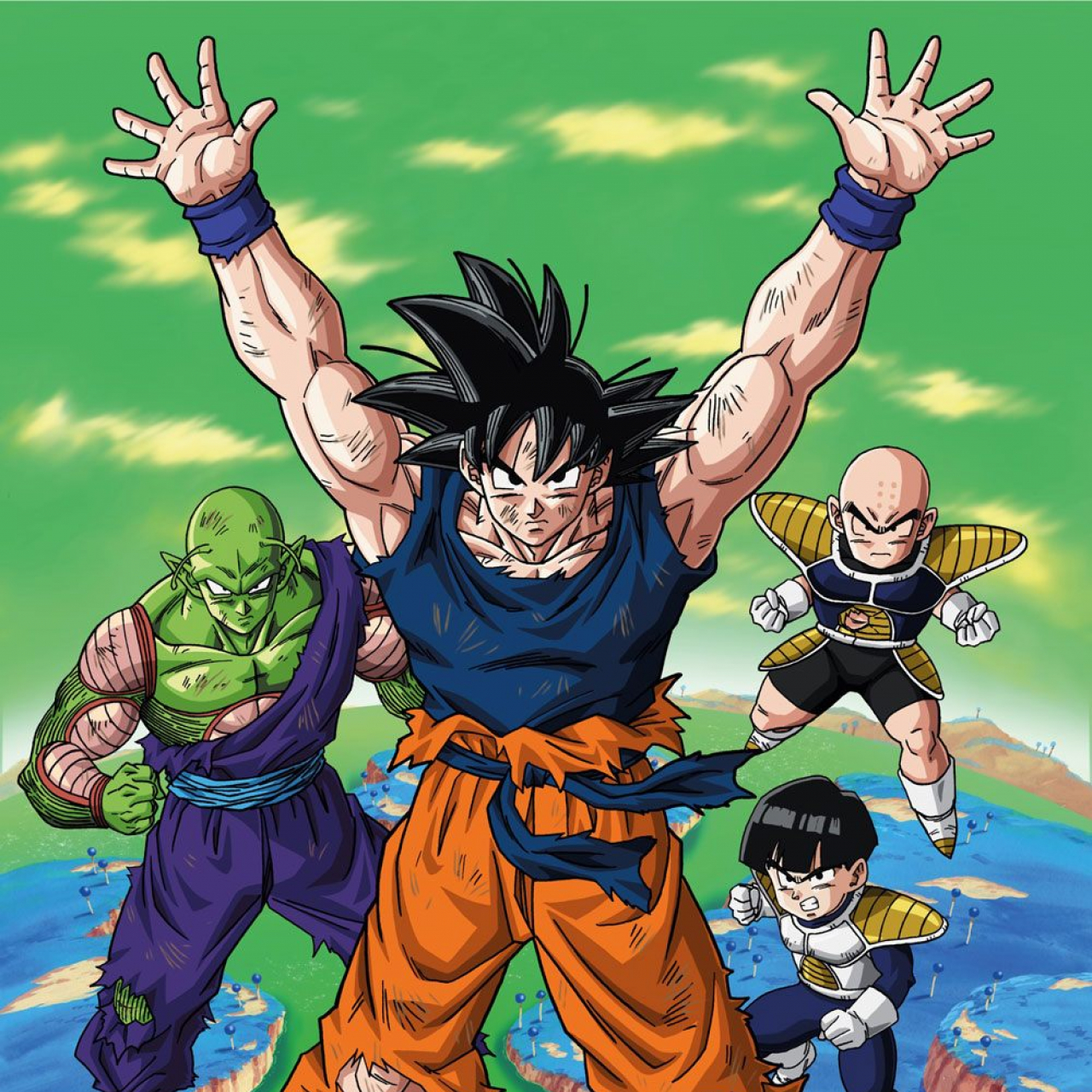 Dragonball Fleece Blanket Namek 100 x 150 cm