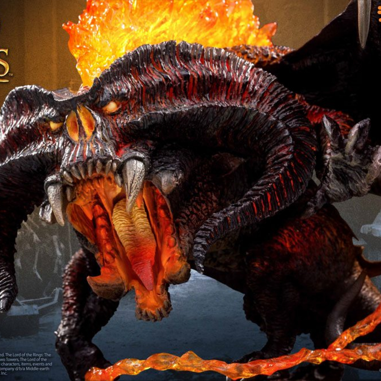 Lord of the Rings Defo-Real Series Soft Vinyl Figure Balrog 16 cm