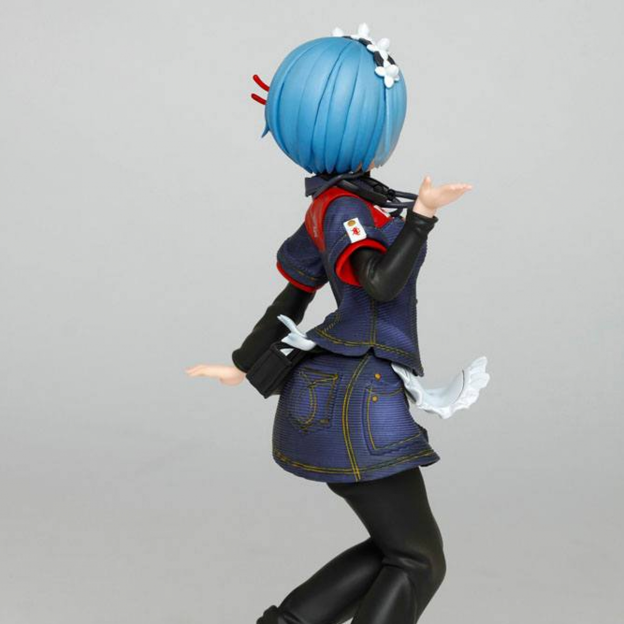 Re:Zero PVC Statue Rem Taito Uniform Ver. 23 cm