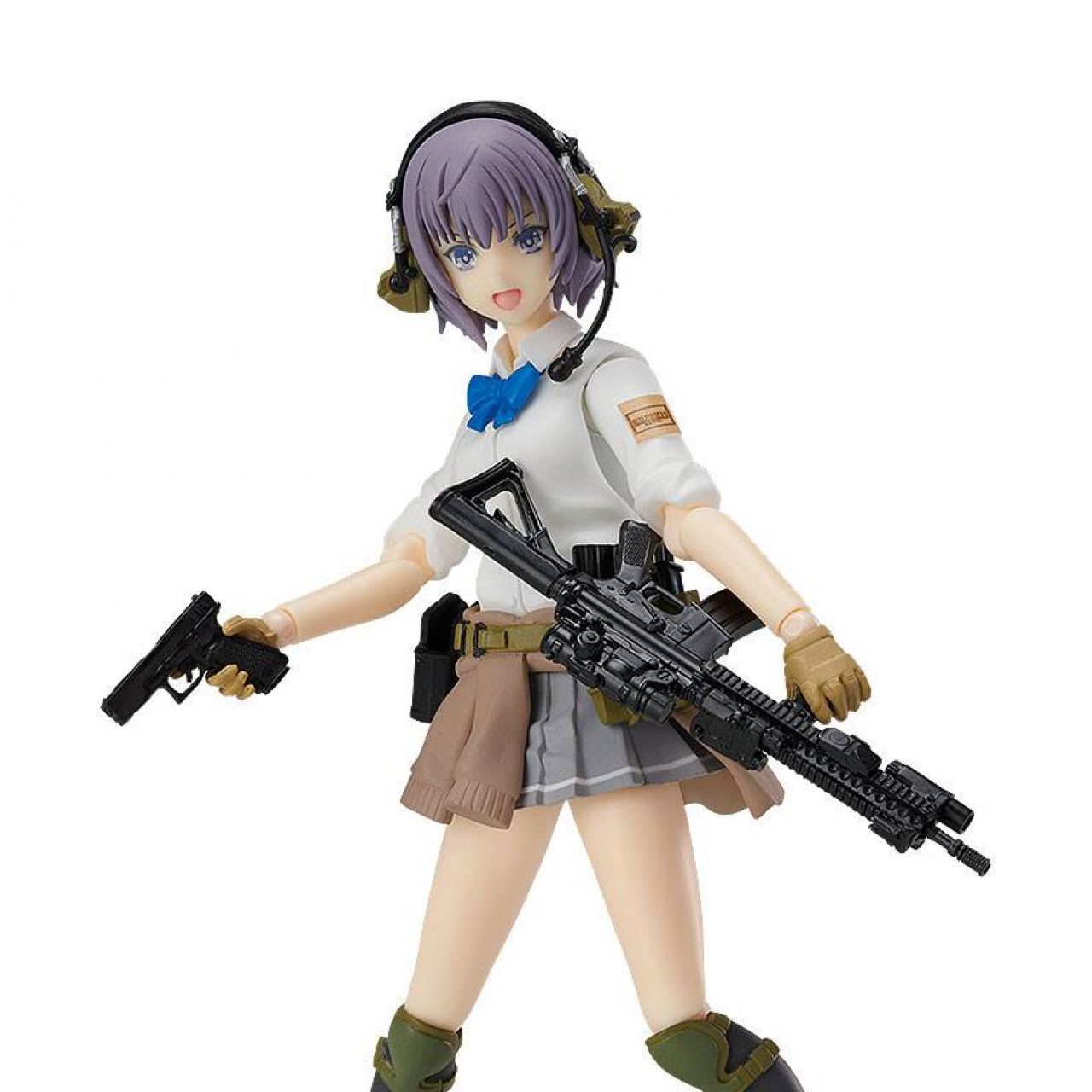 Little Armory Figma Action Figure Miyo Asato Summer Uniform Ver. 13 cm