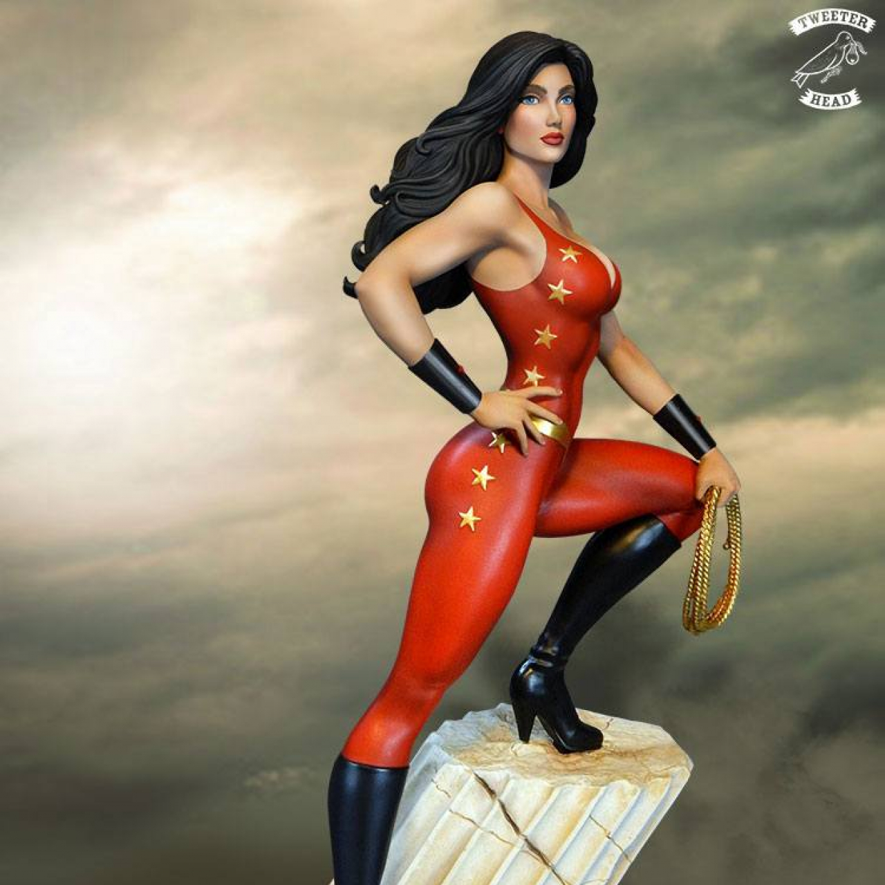 DC Comic Super Powers Collection Maquette Donna Troy 33 cm