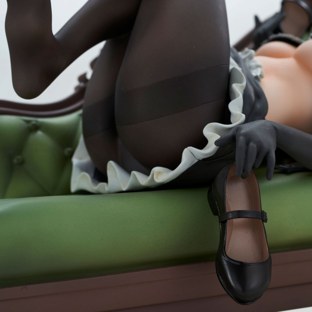Black Tights Deep PVC Statue Deep Temptation of the Maid 24 cm