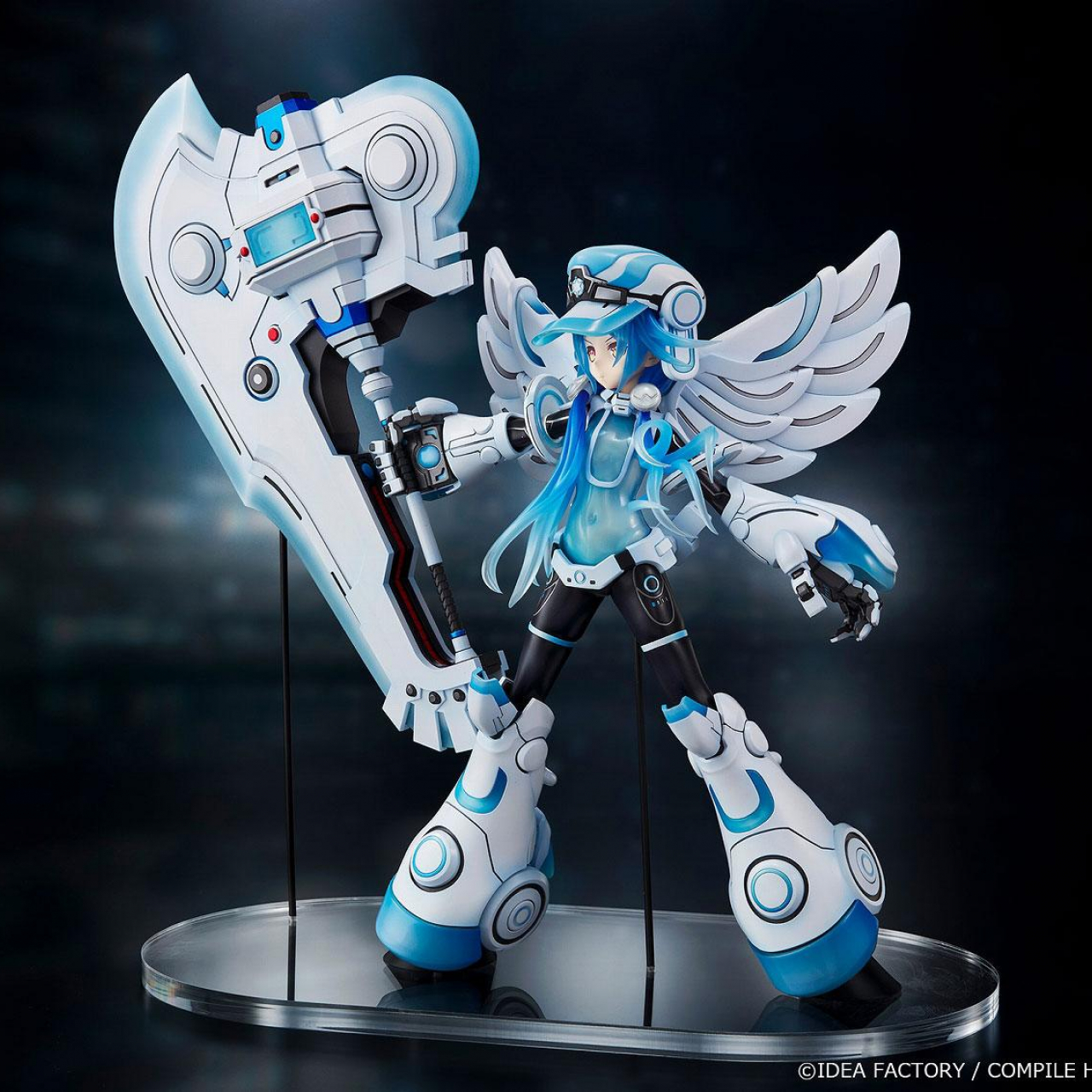 Megadimension Neptunia VII Statue 1/7 Next White 38 cm