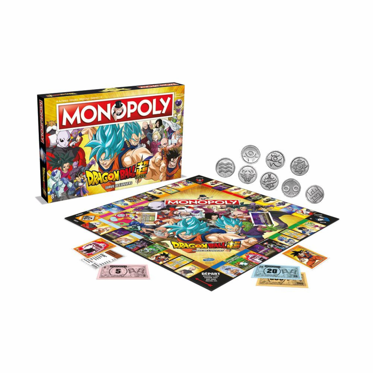 Dragon Ball Super Board Game Monopoly *French Version*