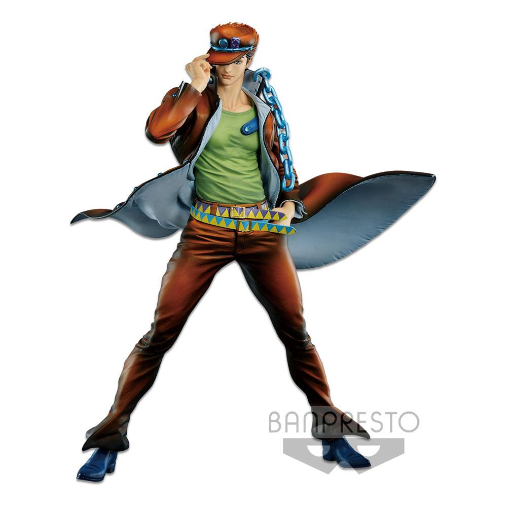 Jojo's Bizarre Adventure Master Star Piece PVC Statue Jotaro Kujo The Brush 2 28 cm