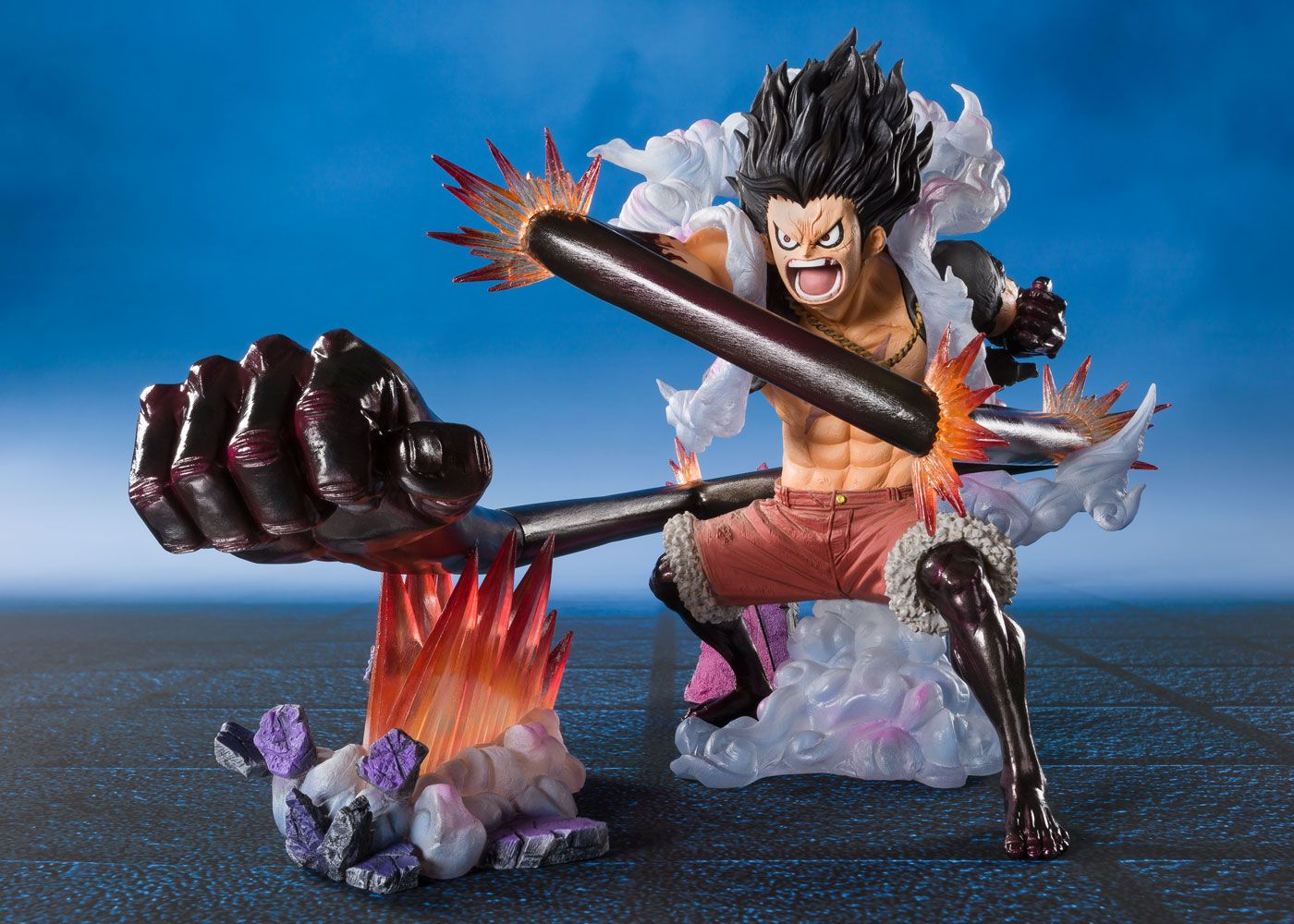 One Piece Figuartszero Pvc Statue Monkey D Luffy Gear 4