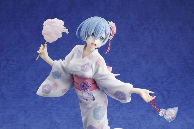 Re:ZERO -Starting Life in Another World- PVC Statue 1/8 Rem Yukata Ver. 23 cm
