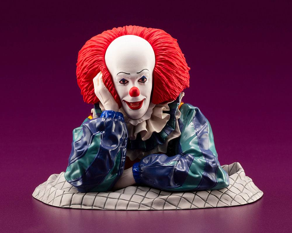 Stephen King's It 1990 ARTFX Dekodemo Statue 1/6 Pennywise 9 cm