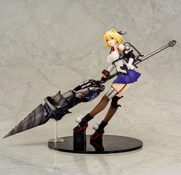 God Eater 3 PVC Statue 1/7 Claire Victorious Smiling Ver. AmiAmi Exclusive 23 cm
