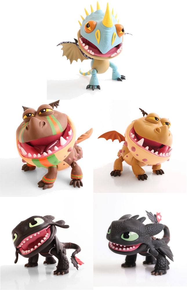How to Train Your Dragon Action Vinyl Figures Dragons 15 cm Assortment (12)